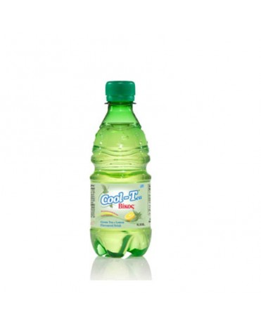 COOL-TEA ΒΙΚΟΣ GREEN TEA & LEMON FLAVOURED DRINK 330ML